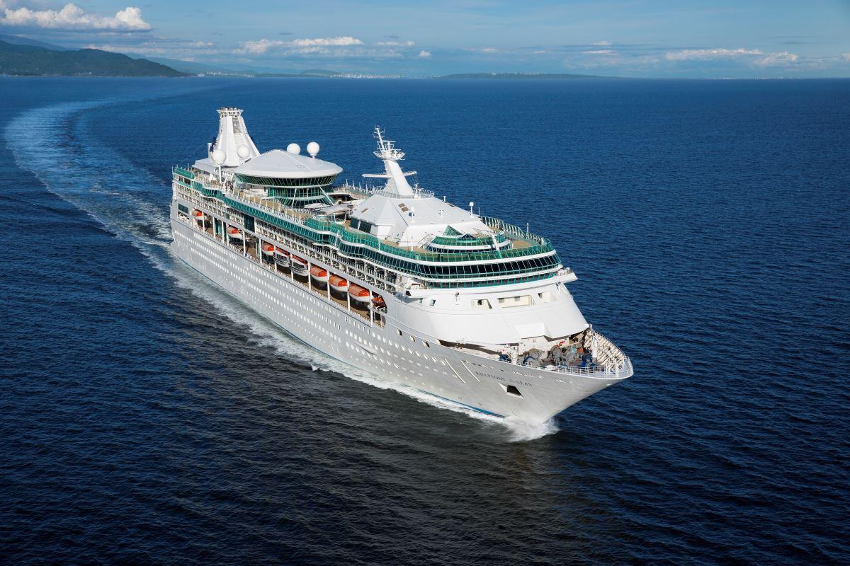 Royal Caribbean Rhapsody Of The Seas Cruise Ship
